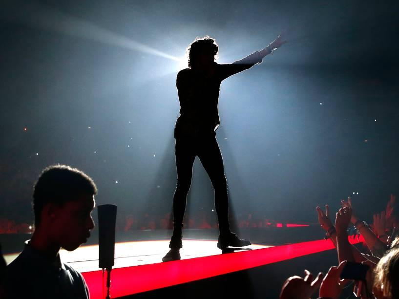 A banda The Vamps, se apresenta no O2 Arena, em Londres - 01/04/2016