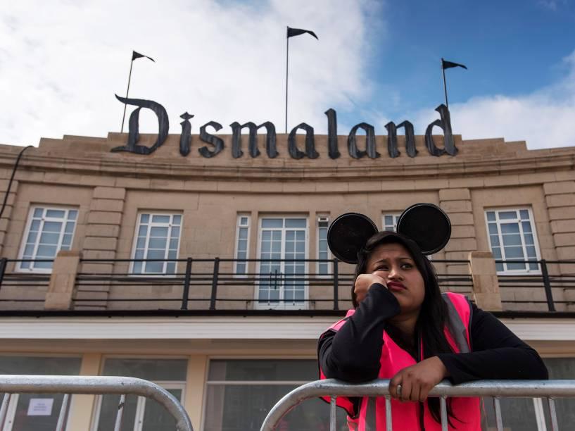Dismaland, o parque temático de Banksy na Inglaterra