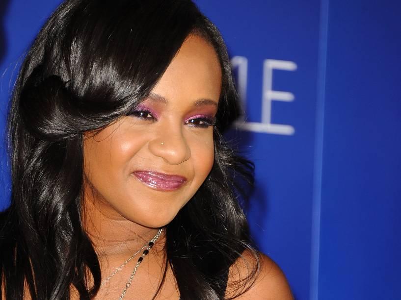 Bobbi Kristina Brown, filha de Whitney Houston