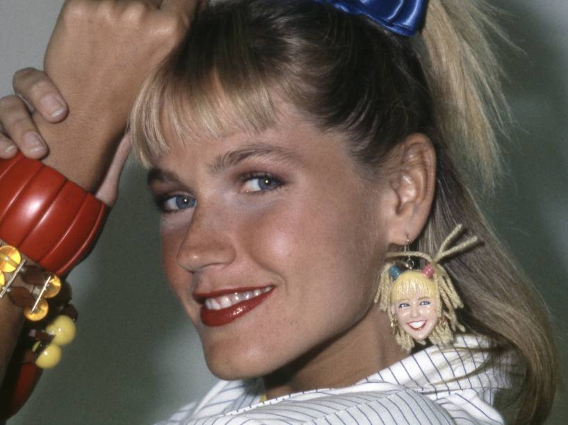 Xuxa Meneghel em 1987