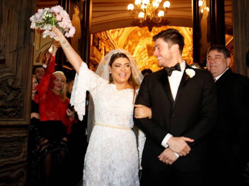Casamento de Preta Gil e Rodrigo Godoy na igreja Nossa Senhora do Carmo no Rio de Janeiro