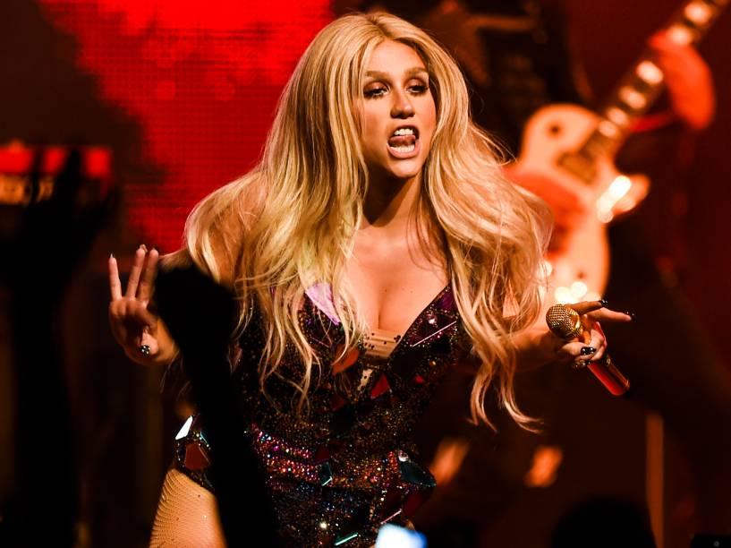 Show da cantora Kesha, em São Paulo