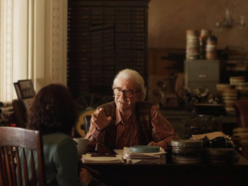 Afonso (Juca de Oliveira), em cena do filme De Onde Eu Te Vejo, dirigido por Luiz Villaça