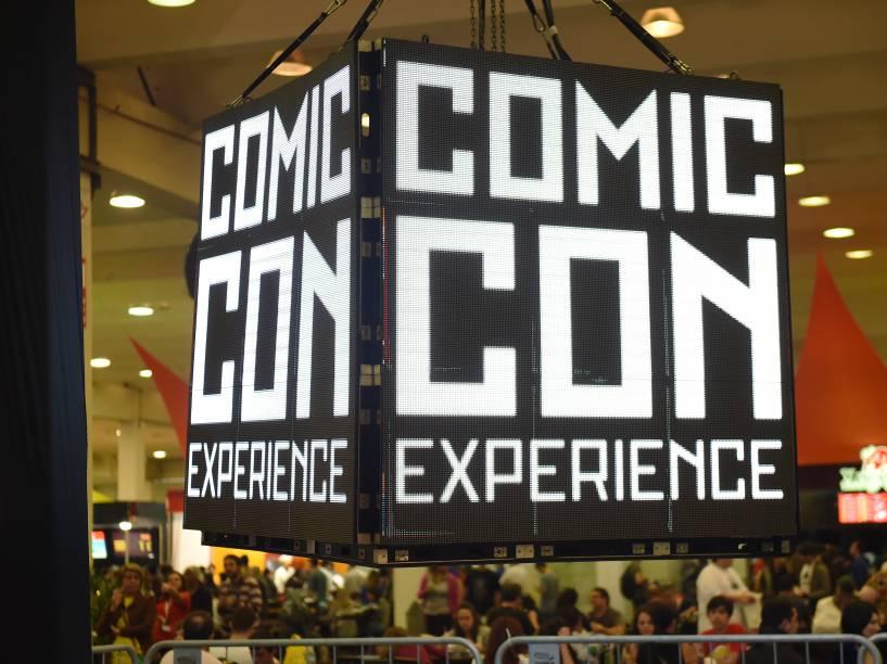Autógrafo do autor de A Guerra dos Tronos, George Martin, é exposto na Comic Con Experience 2014 em São Paulo