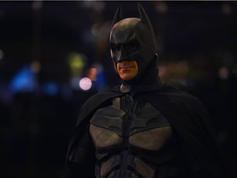 Cosplay do Batman durante a Comic Con Experience 2014 em São Paulo