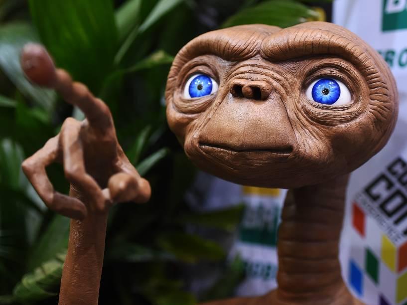 Boneco do E.T. durante a Comic Con Experience 2014 em São Paulo