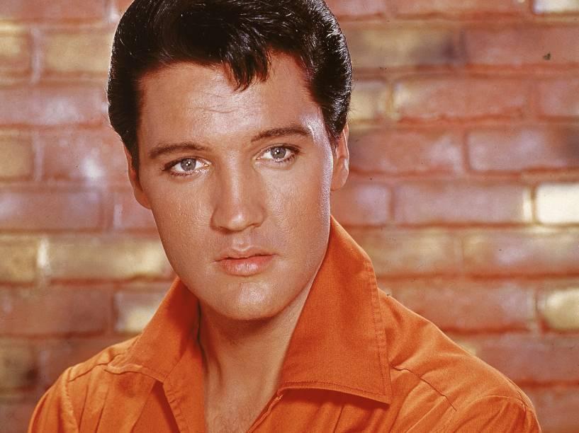 Elvis Presley em retrato nos anos 60