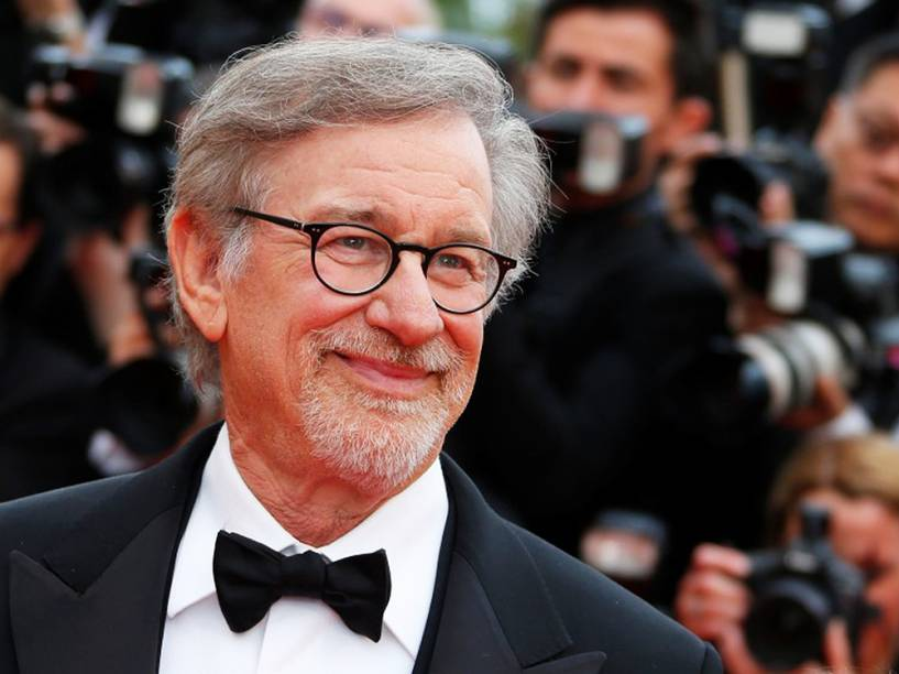 O diretor Steven Spielberg, no Festival Internacional de Cinema de Cannes - 14/05/2016