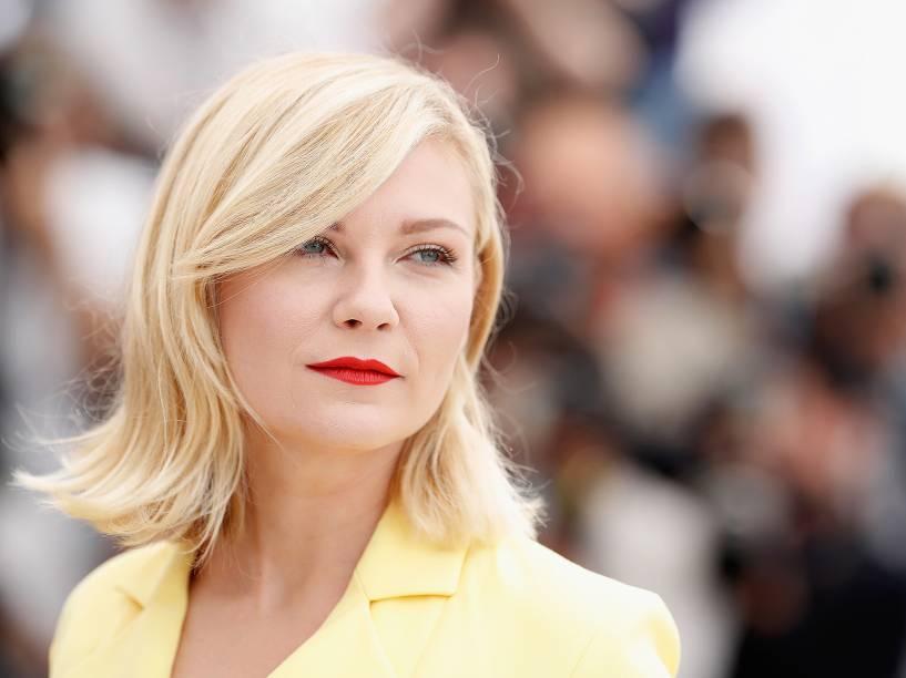 Atriz Kirsten Durnst comparece a 69a edição do Festival Cannes de cinema, em Paris - 11/05/2016