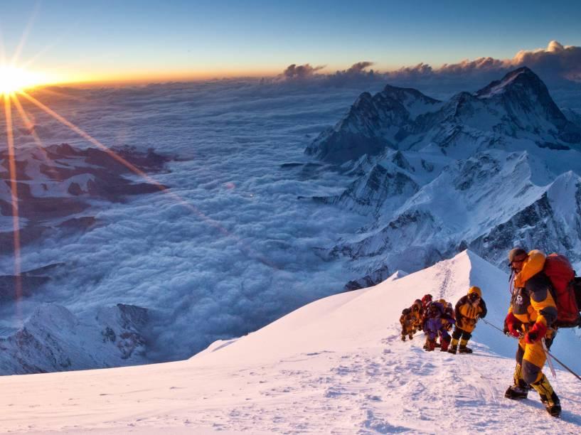 Cena do filme Evereste