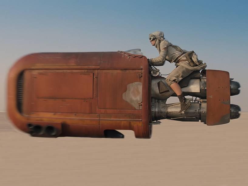 Cena de Star Wars: Episódio VII. A produção do filme lançou nesta sexta-feira (28) o trailer oficial do filme