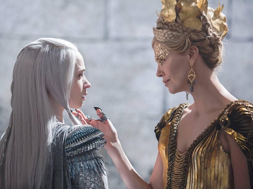Cena do filme O Caçador e a Rainha do Gelo