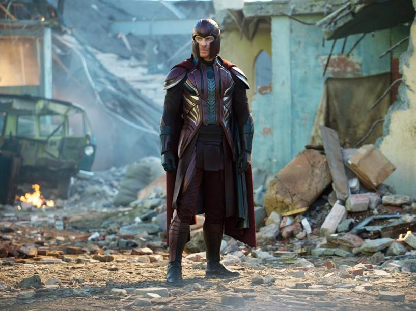 Magneto (Michael Fassbender) em cena do filme X-Men: Apocalipse
