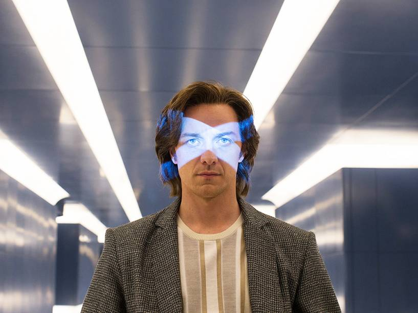 Professor Xavier (James McAvoy), em cena do filme X-Men: Apocalipse