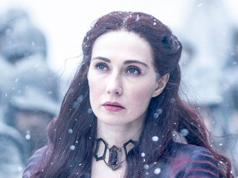 Melisandre (Carice van Houten) na 5ª temporada de Game of Thrones
