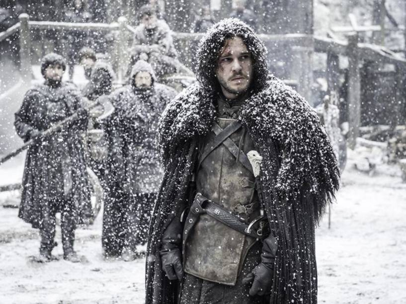Jon Snow (Kit Harington) na 5ª temporada de Game of Thrones