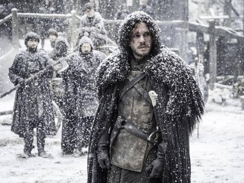 Jon Snow (Kit Harington) na 5ª temporada de Game of Thrones