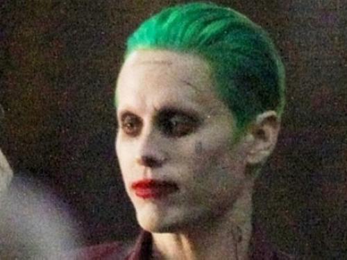 Jared Leto no set de gravação do filme Esquadrão Suicida