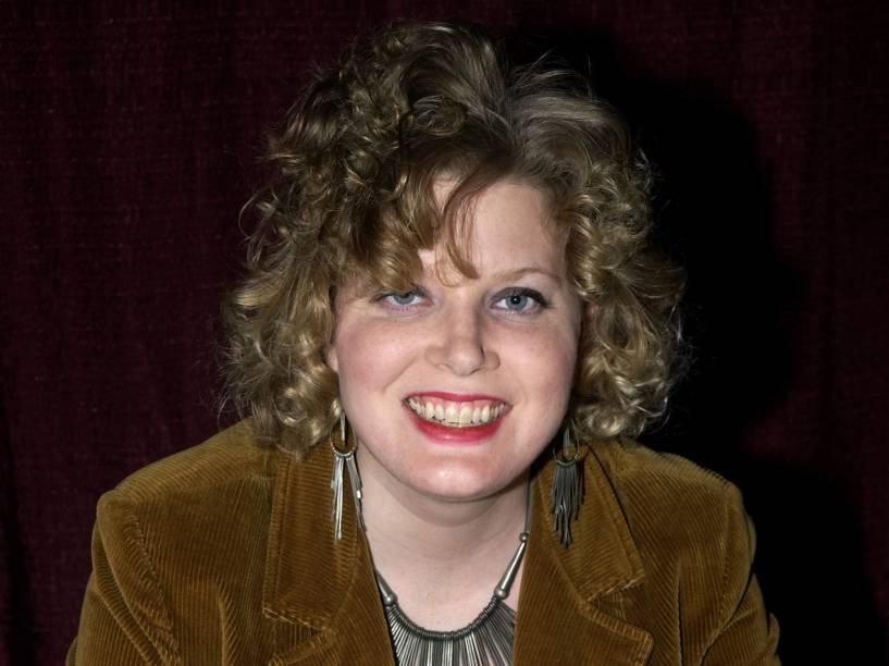 Jennifer Lien durante evento em Pasadena, Califórnia em 2003