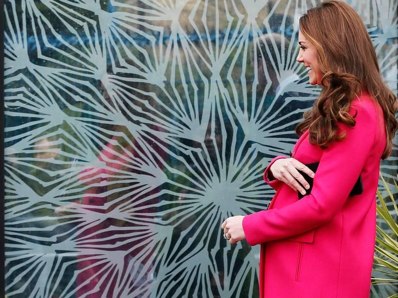 Kate Middleton, a duquesa de Cambridge à espera de seu segundo filho com o príncipe William