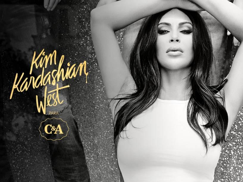Coleção Kim Kardashian para a C&A