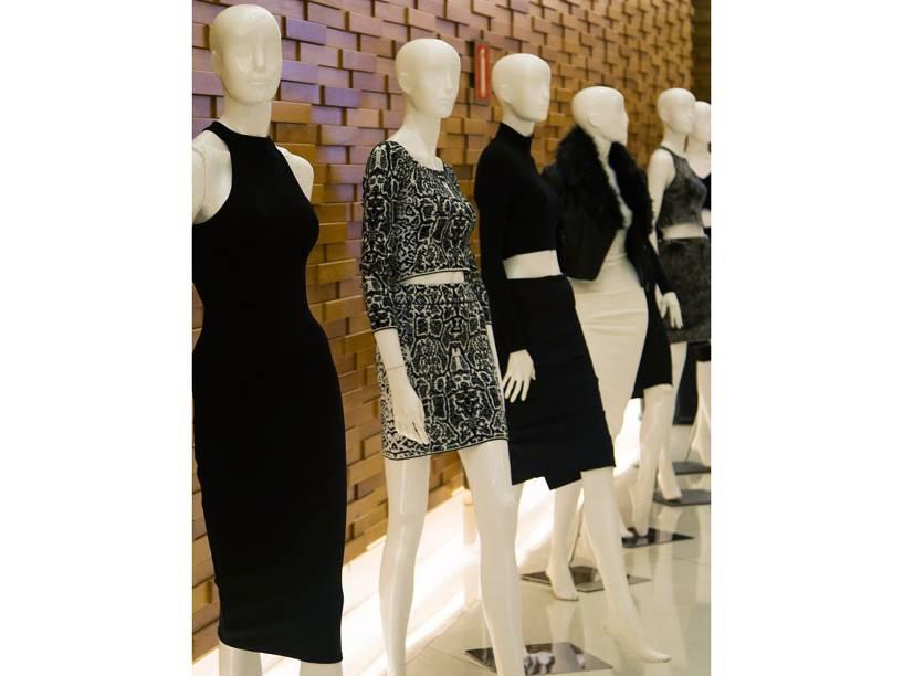 Modelos da coleção Kim Kardashian para a CeA