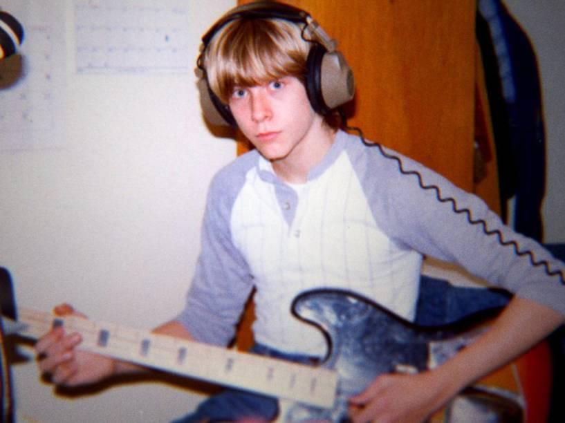 O músico Kurt Cobain é tema do documentário Kurt Cobain: Montage of a Heck