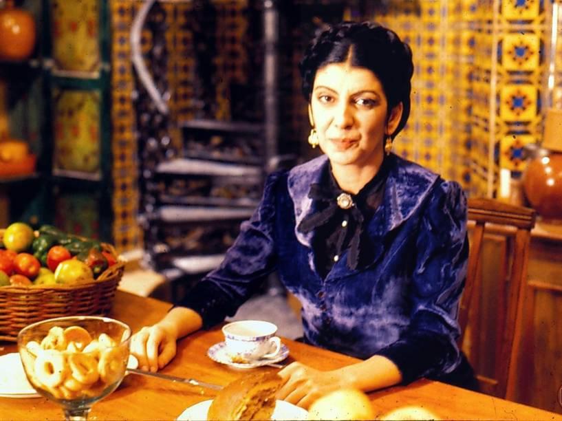 Marília Pêra como Juliana na minissérie O Primo Basílio de 2007