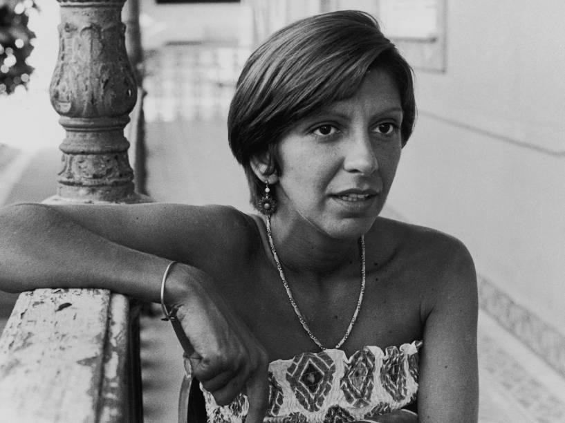 A atriz Marília Pêra em 1976