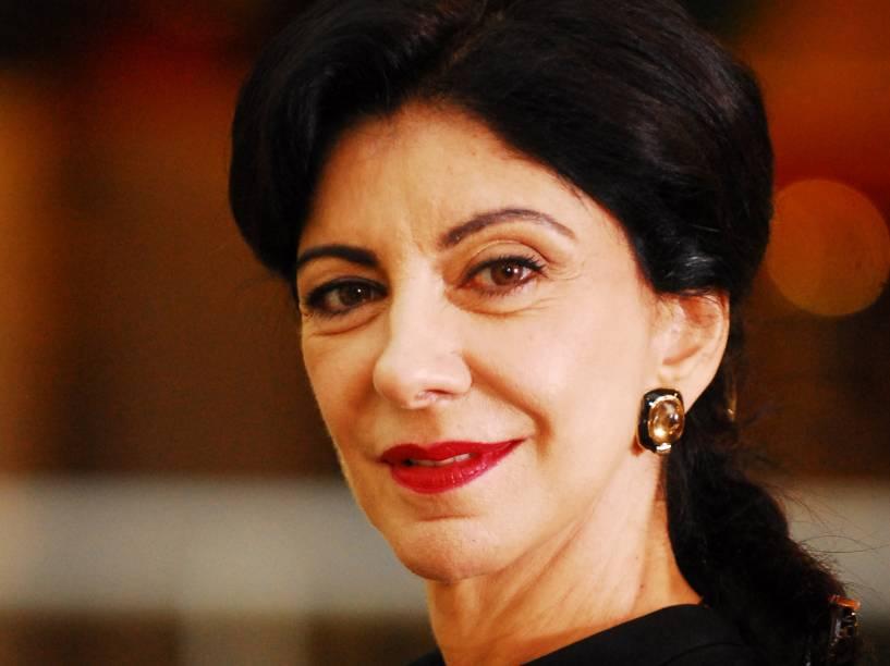 Marília Pêra na novela Duas Caras, em 2008
