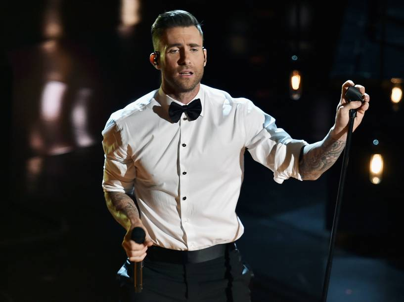 Adam Levine, vocalista da banda Maroon 5