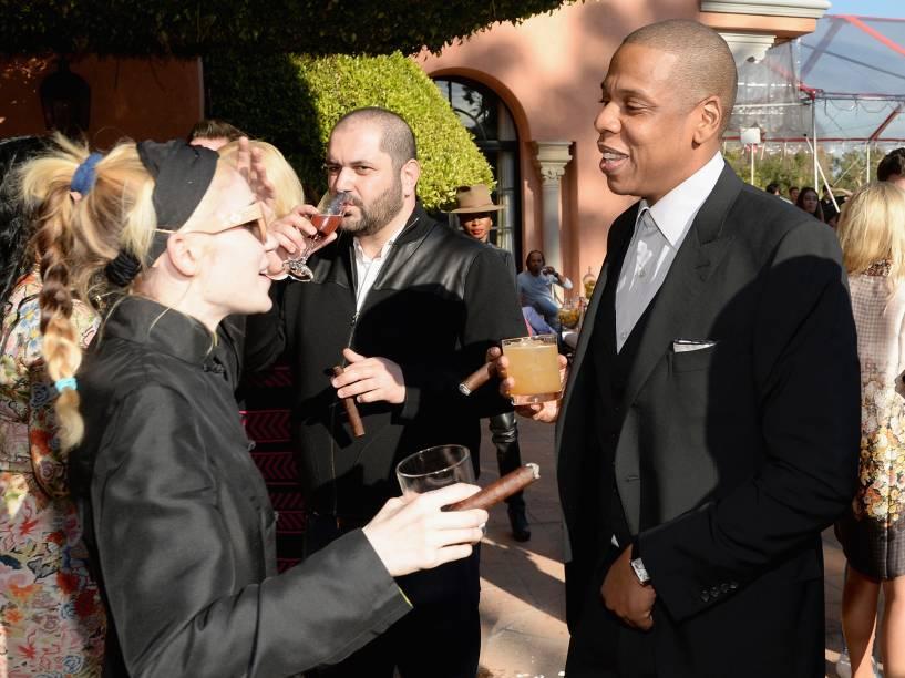Grimes e Jay-Z: Rapper incluiu a cantora entre os artistas que têm a carreira gerenciada pela RocNation
