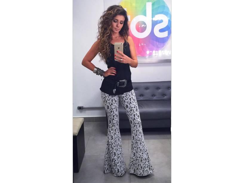 A cantora Paula Fernandes