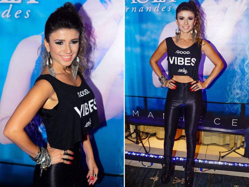 A cantora Paula Fernandes durante coletiva de lançamento do seu novo disco Amanhecer em São Paulo - 20/10/2015