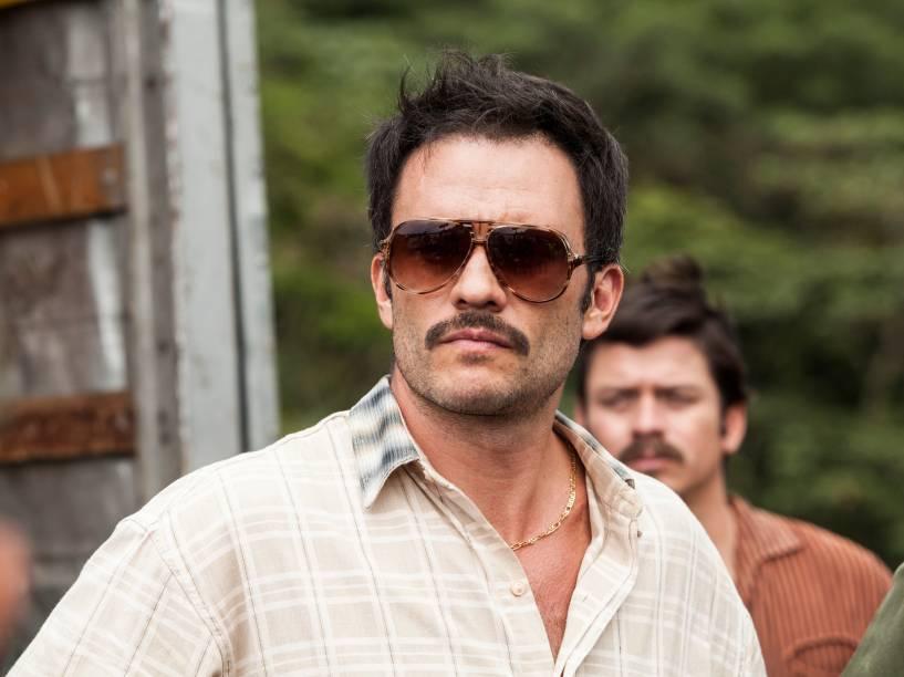 Juan Pablo Raba faz o personagem Gustavo Gaviria, primo de Pablo Escobar