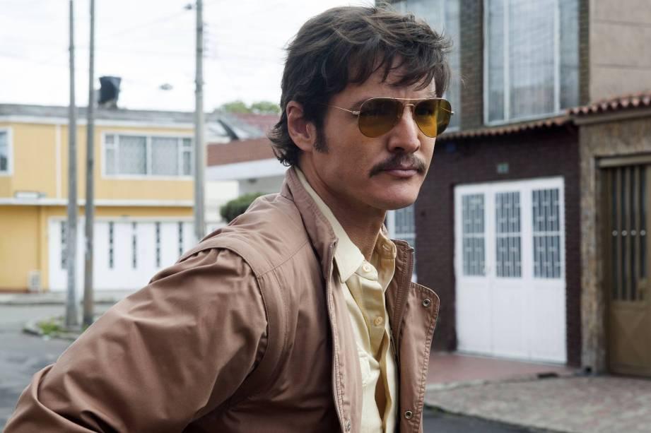 Pedro Pascal na série Narcos
