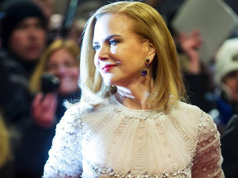 Nicole Kidman chega para a exibição do filme A Rainha do Deserto no 65º Festival Internacional de Cinema de Berlim - 06/02/2015