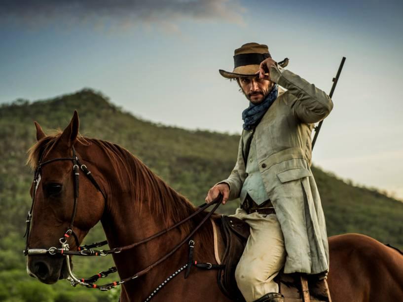Afrânio (Rodrigo Santoro) na novela Velho Chico