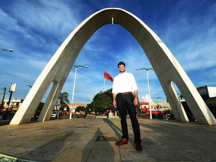 Prefeito Guilherme Landim de Brejo Santo, no Ceará<br>