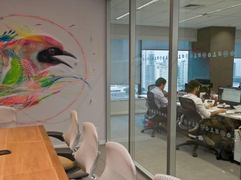 Novo escritório do Twitter em São Paulo
