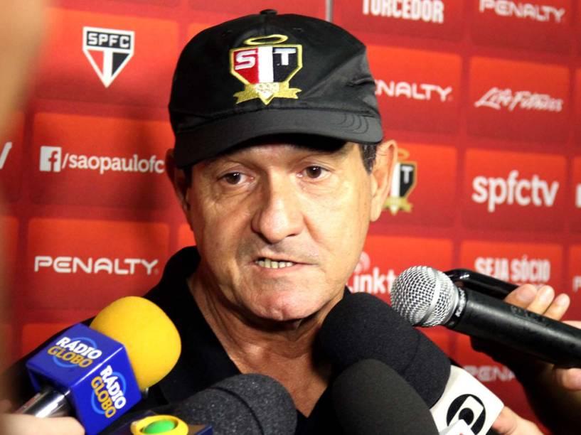 Muricy após partida contra o Botafogo, em 05/04/2015