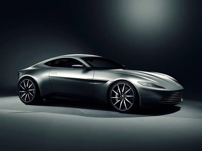 O Aston Martin DB10, feito especialmente para o filme 'Spectre', nova saga de James Bond
