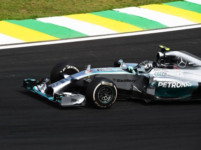 Nico Rosberg vence o GP Brasil de Fórmula 1