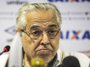 O presidente do Vasco, Eurico Miranda