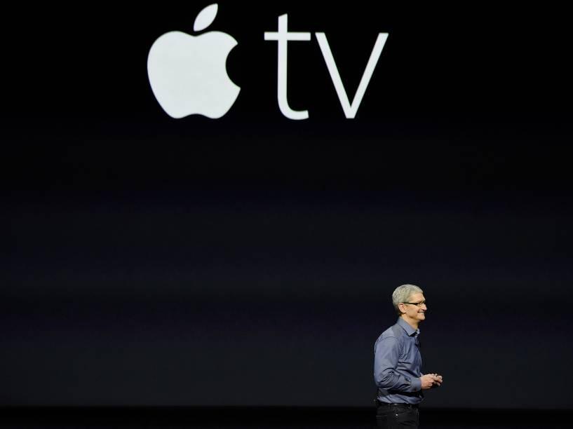 Apresentação da Apple TV em São Francisco, na Califórnia