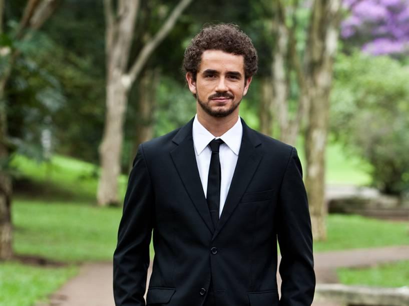 O repórter Felipe Andreoli, do programa CQC, da Band