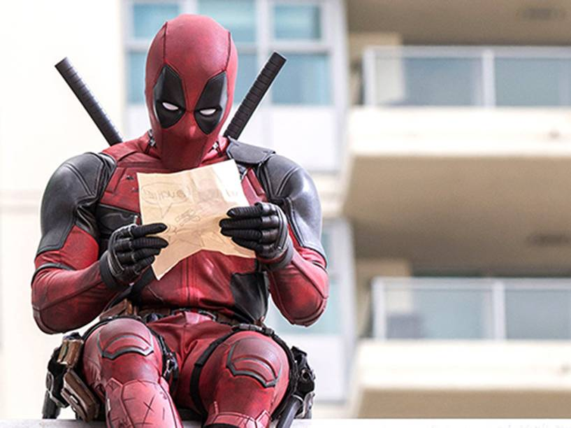 Ryan Reynolds é o personagem Deadpool