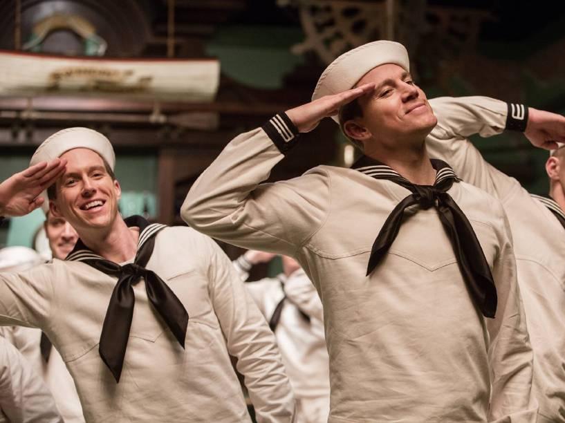 Channing Tatum em Ave, César!, filme dos irmãos Ethan e Joel Coen