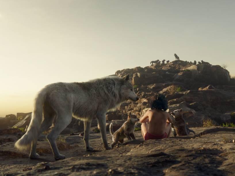 Cena do filme Mogli - O Menino Lobo