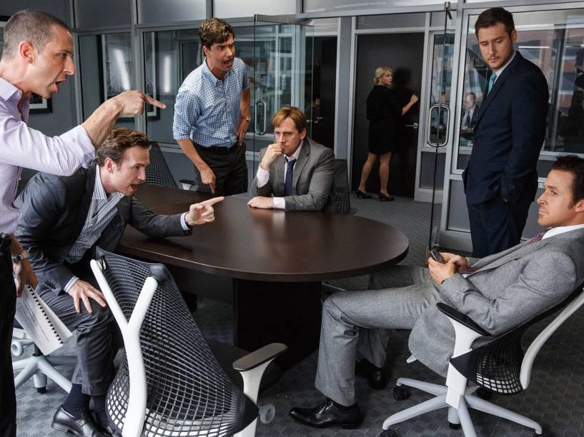 'A Grande Aposta' conta a história de empresários que preveem a crise de 2008 e decide investir contra o mercado imobiliário